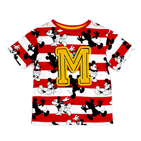 Camiseta infantil estampada de Mickey Mouse