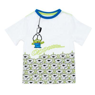 Camiseta infantil Aliens, Toy Story