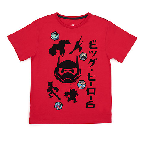 T-shirt Les Nouveaux Héros pour enfants