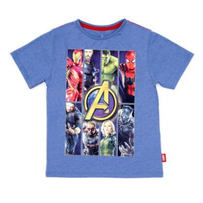 Camiseta infantil Los Vengadores. Infinity War