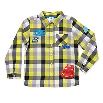 Disney Store Disney Pixar Cars Checked Shirt For Kids