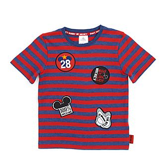 Disney Store Mickey Mouse Striped T-Shirt For Kids