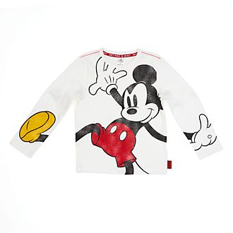 Disney Store Mickey Mouse Long Sleeved T-Shirt For Kids