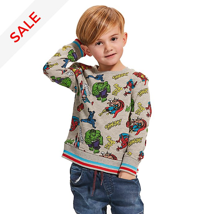 Disney Store Marvel Comics Sweatshirt For Kids