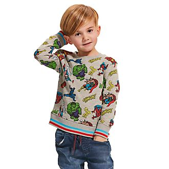 Disney Store Marvel Comics Sweatshirt For Kids