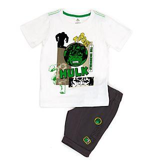 Conjunto infantil de camiseta y pantalones cortos Hulk, Disney Store