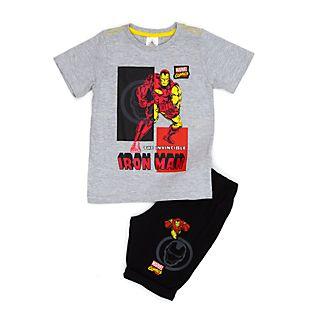 Completo maglia e pantaloncini bimbi Iron Man Disney Store