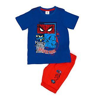 dbf39c45e Conjunto infantil de camiseta y pantalones cortos Spider-Man
