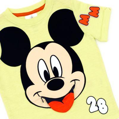 T-shirt Mickey Mouse à fermeture éclair pour enfants