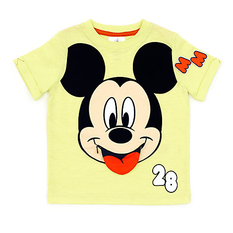 Mickey Mouse Zip T-Shirt For Kids