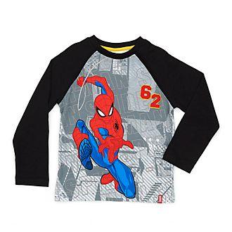 Disney Store T-shirt à manches longues Spider-Man pour enfants