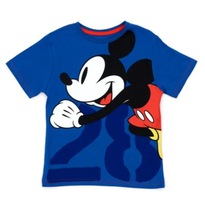 Disney Store Mickey Mouse '28' T-Shirt For Kids