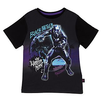 Disney Store Black Panther T-Shirt For Kids