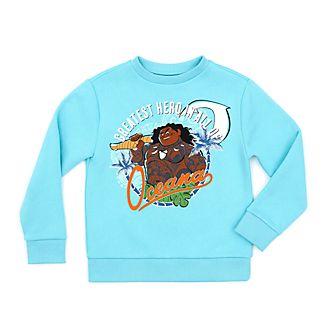 Disney Store Maui Sweatshirt For Kids, Moana