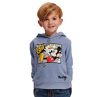 Disney Store Mickey Mouse Hooded Sweatshirt For Kids