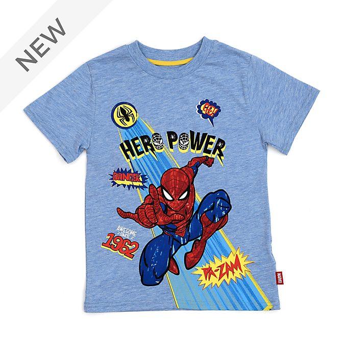 Disney Store Spider-Man Hero Power T-Shirt For Kids