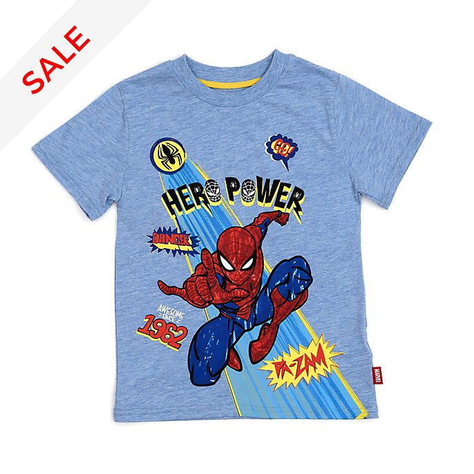 Disney Store Spider-Man Hero Power T-Shirt For Kids
