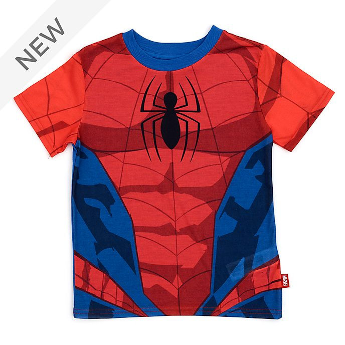 Disney Store Spider-Man Costume T-Shirt For Kids