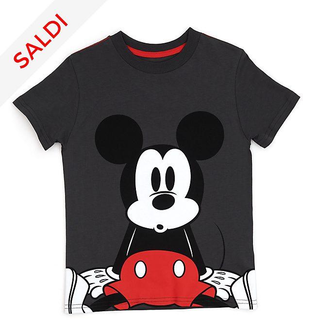 Maglietta grigia bimbi Topolino Disney Store