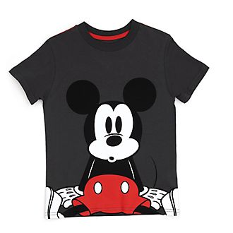 Disney Store Mickey Mouse Grey T-Shirt For Kids