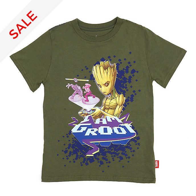 Disney Store Groot T-Shirt For Kids, Guardians of the Galaxy