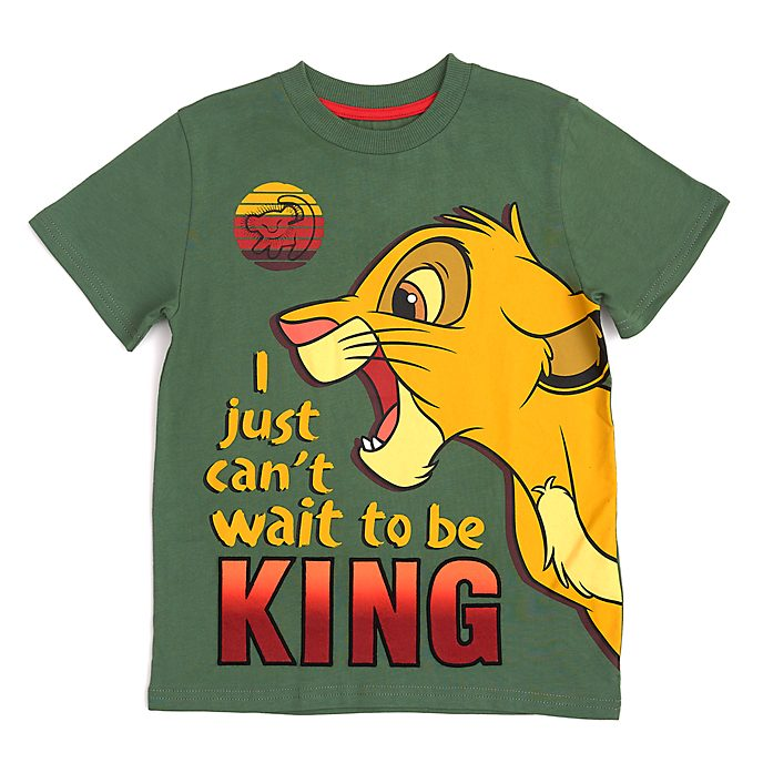 Disney Store Simba T-Shirt For Kids