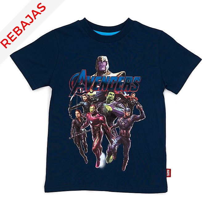 Camiseta infantil Vengadores: Endgame, Disney Store