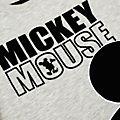 Maglietta bimbi Topolino grigio Disney Store