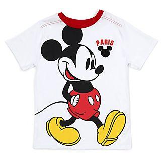 Disney Store - Micky Maus - Weißes Paris T-Shirt für Kinder