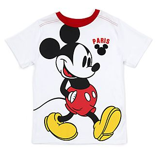 Camiseta infantil Paris Mickey Mouse en blanco, Disney Store