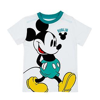Camiseta infantil Dublin Mickey Mouse, Disney Store