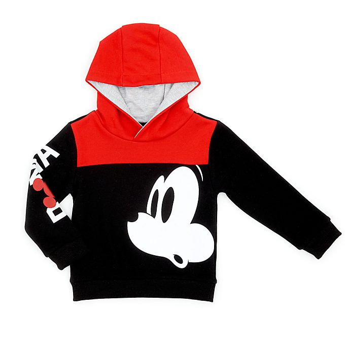 Disney Store Mickey Mouse Roma Hooded Sweatshirt For Kids