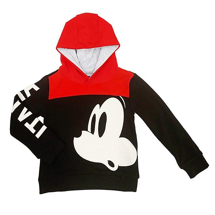 Disney Store Sweatshirt à capuche Mickey Italie pour enfants