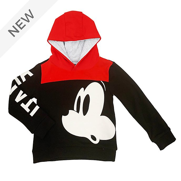 Disney Store Mickey Mouse Italia Hooded Sweatshirt For Kids