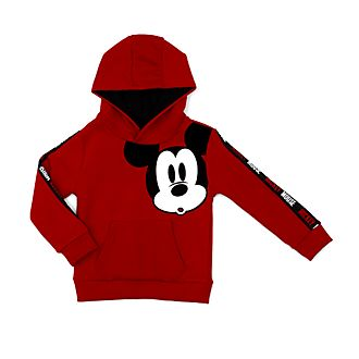 Disney Store Mickey Mouse Red Hooded Sweatshirt For Kids