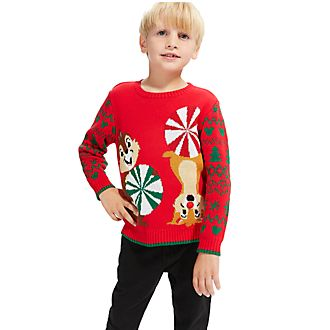 Sudadera navideña infantil Chip y Chop, Comparte la magia, Disney Store