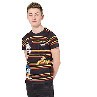 Hype Squad Striped T-Shirt For Kids