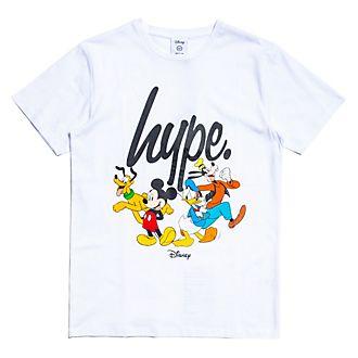 Camiseta infantil blanca equipo, Hype