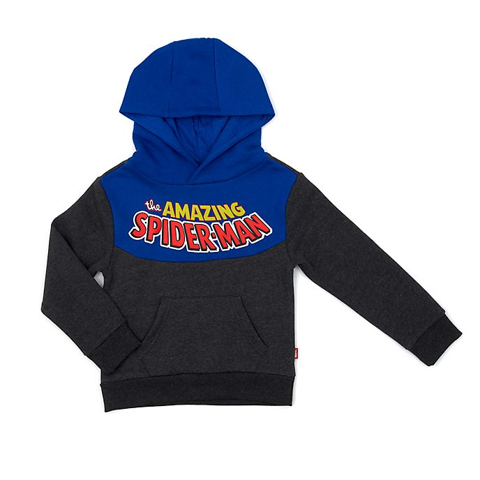Disney Store Sweatshirt Spider-Man à capuche pour enfants