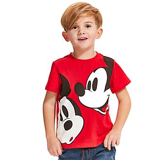 Disney Store T-shirt rouge Mickey Mouse pour enfants