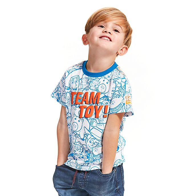 Disney Store Toy Story Printed T-Shirt For Kids