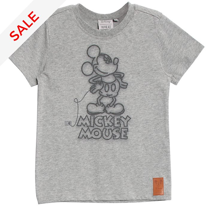 WHEAT Mickey Mouse T-Shirt For Kids