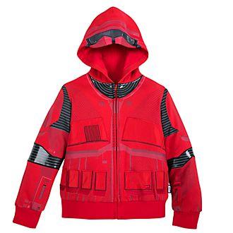 Disney Store Sith Trooper Hooded Sweatshirt For Kids, Star Wars