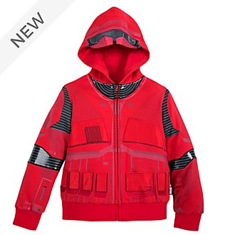 Disney Store Sith Trooper Hooded Sweatshirt For Kids, Star Wars