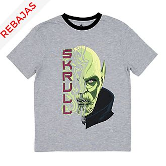 Camiseta Skrull para adultos, Capitana Marvel, Disney Store