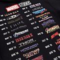 Disney Store Marvel Studios Sweatshirt à capuche pour adultes