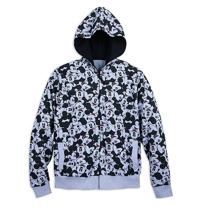 Disney Store Mickey Mouse Men's Hooded Sweatshirt