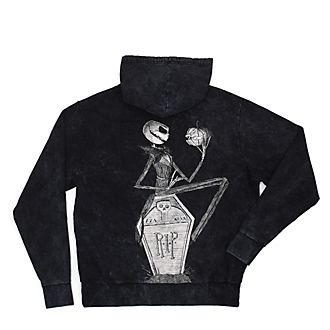 Disney Store The Nightmare Before Christmas Hooded Sweatshirt For Adults