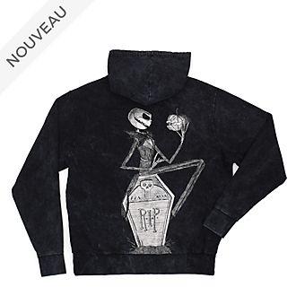 Disney Store Sweatshirt à capuche L'Étrange Noël de Monsieur Jack pour adultes