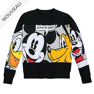 Disney Store Sweatshirt Mickey et ses Amis pour adultes